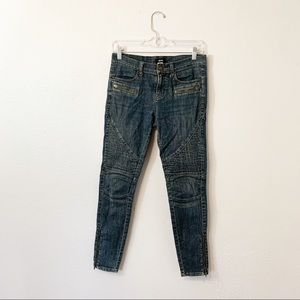 BDG Urban Outfitters Skinny Moto Zippered Jeans
